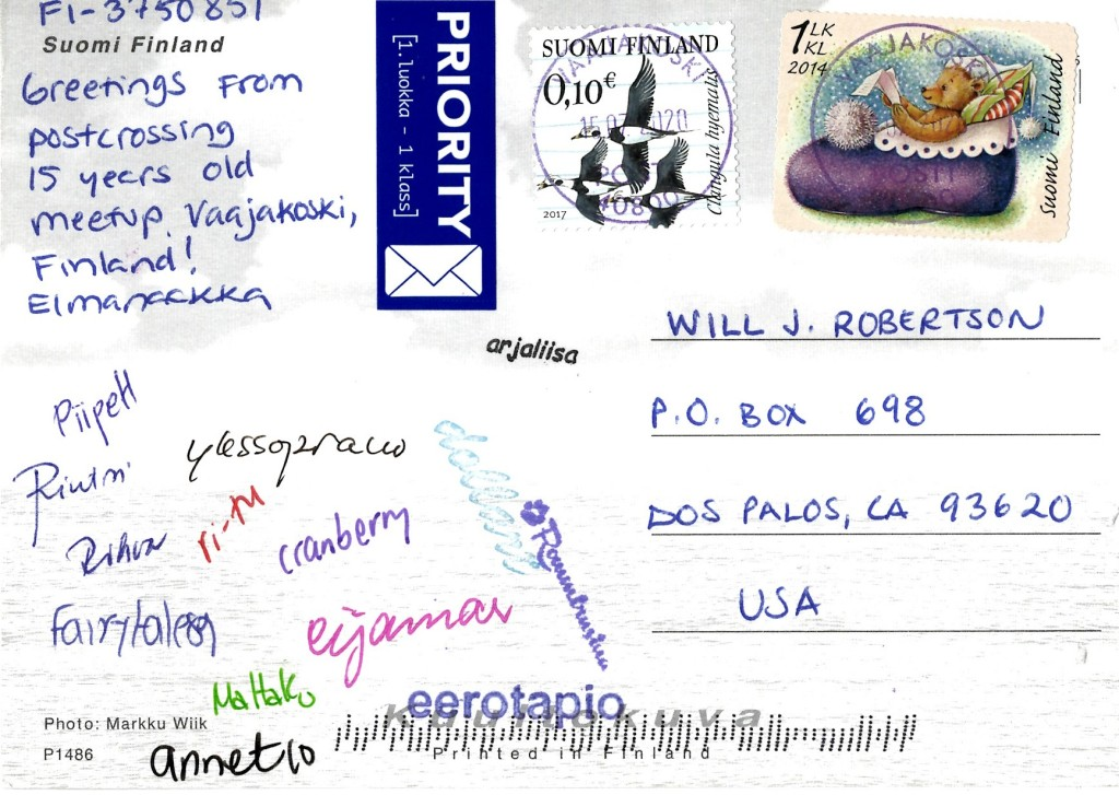 Postcrossing 15th birthday meetup